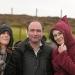 Antja, Bernard und Irina