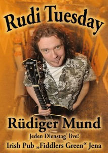 Rudi Tuesday Postkarte Front