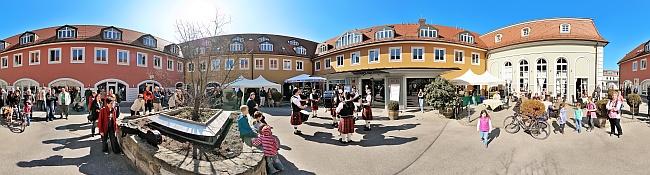3. Whisky-Festival Radebeul - Innenhof Goldener Anker