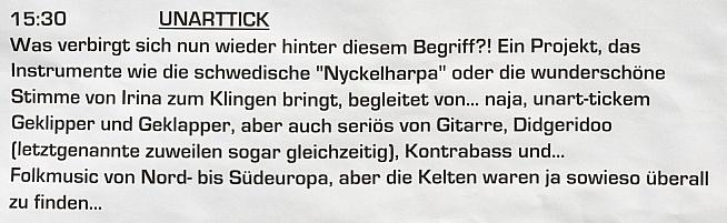 UnArtTick