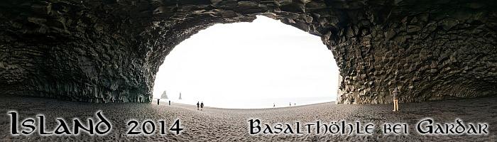 Basalthöhle bei Garðar