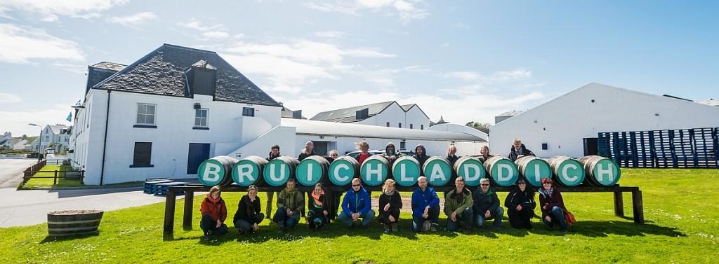 Reisetruppe FDJ unplugged Tour Islay 2015